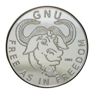 Monedas de plata de Linux